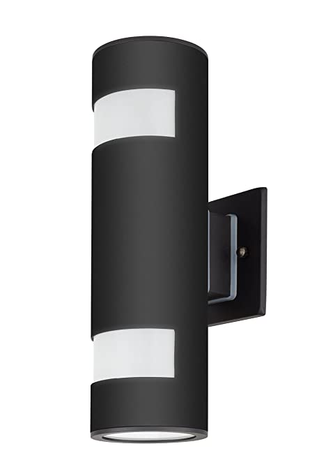 new arrival 6c273 c0f39 TENGXIN Outdoor Wall Lamp Modern Wall Sconce Outdoor Light Fixture Black  Aluminum Material,Toughened Glass,E27,Waterproof,UL Listed