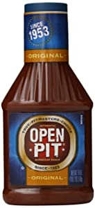 Open Pit Barbecue Sauce, Original, 18 Ounce (Pack of 12)
