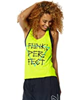 Zumba Funk Perfect Burnout Tank Top