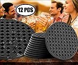"BasicForm Silicone Coasters Round 4"" Matte Flat"