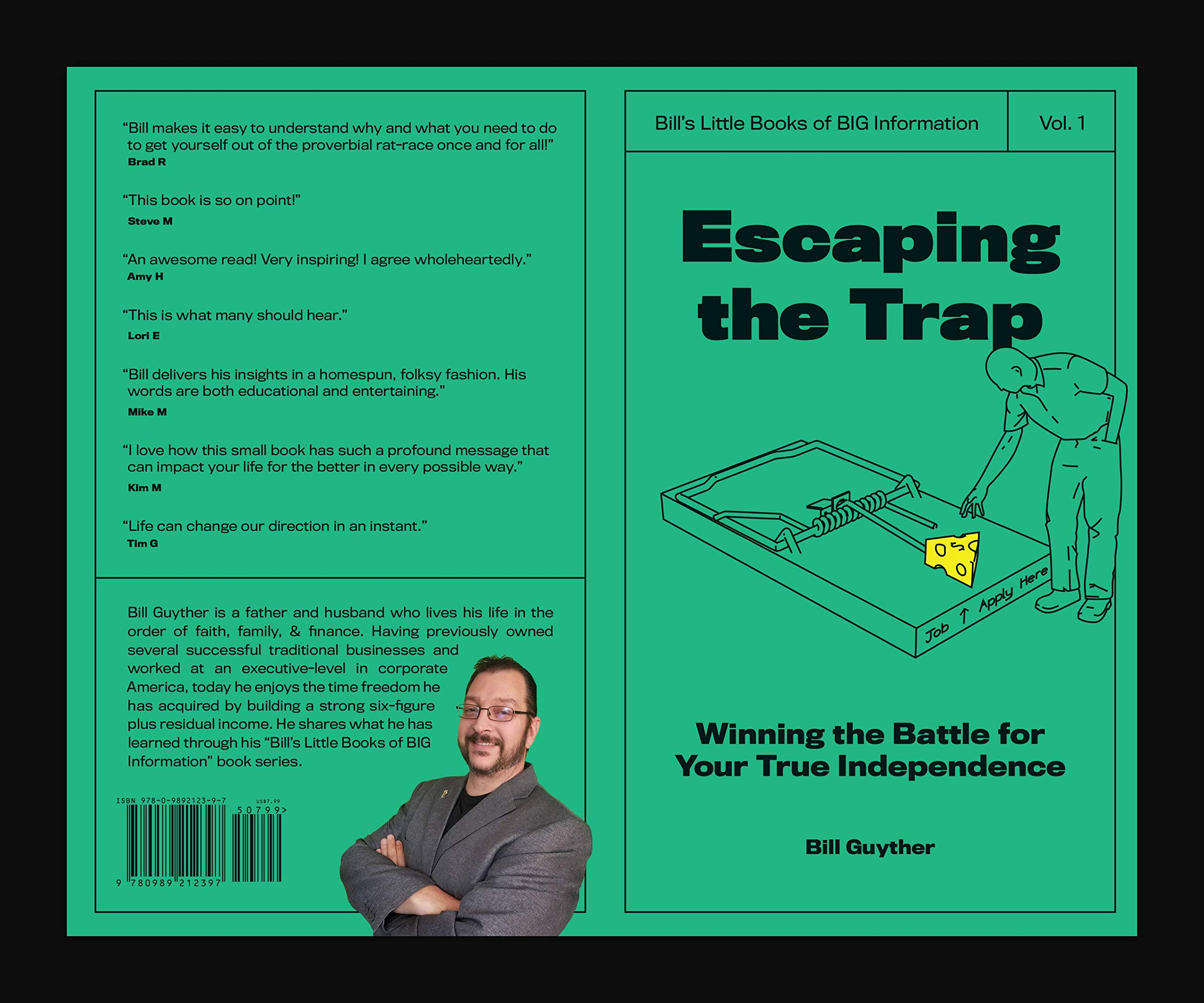 Escaping Disability Trap >> Escaping The Trap Bill Guyther 9780989212397 Amazon Com Books