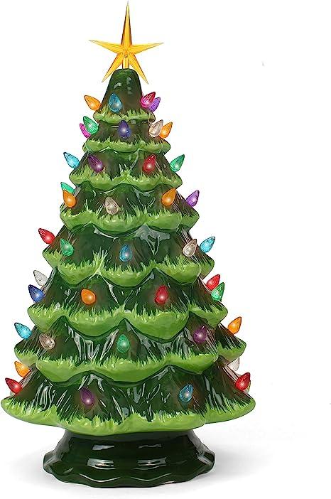 Huge Collection of Vintage Ceramic Christmas Tree Lights