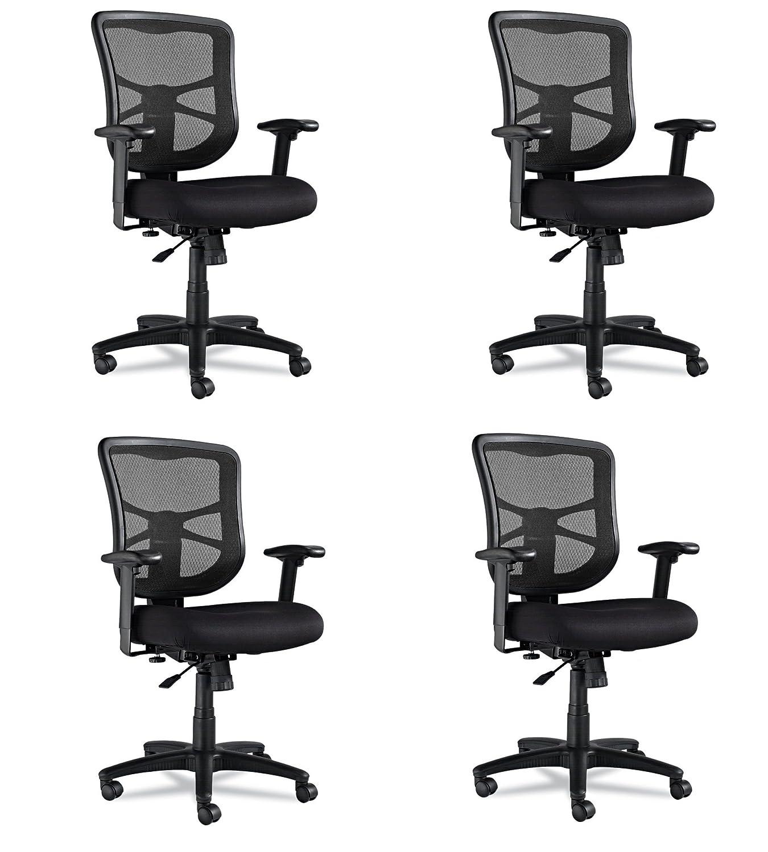 Amazon Alera Elusion Series Mesh Mid Back Swivel Tilt Chair