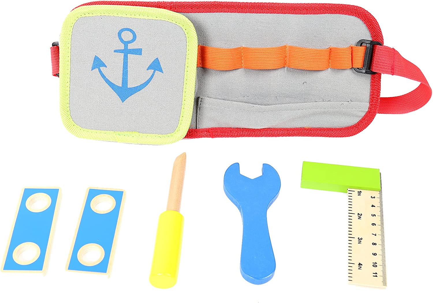 Tooky Toy Tool Belt 16.14 x 7.48 x 1.57 inches