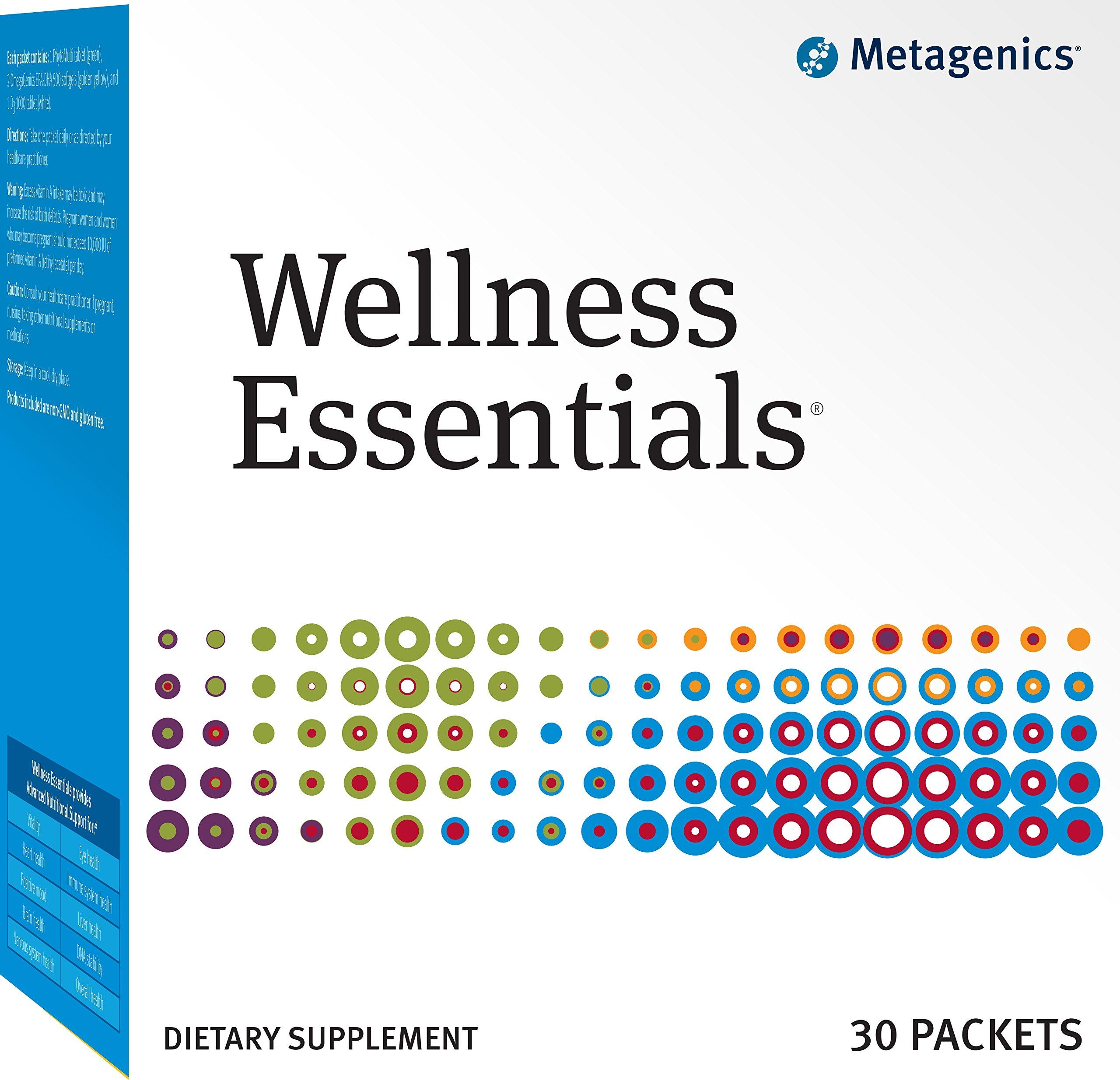 Metagenics - Wellness Essentials, 30 Count