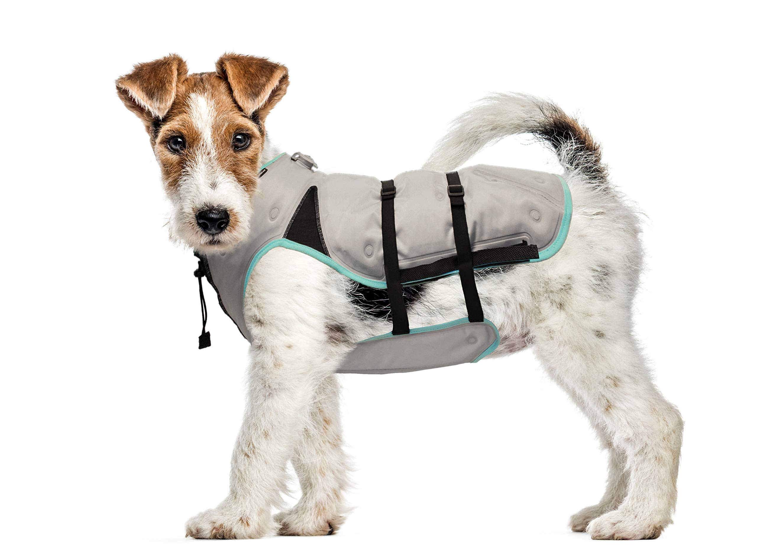 Suitical Dry Cooling Vest Dog, Small, Silver by Suitical (Image #1)