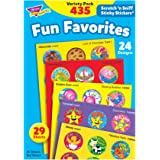 Trend Enterprises Fun Favorites Stinky Stickers Variety Pack, 435/pkg (T-6491)