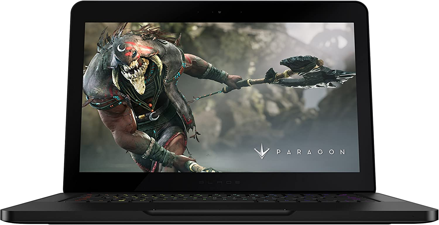 The Razer Blade (GeForce GTX 1060) 14in HD Gaming Laptop (6th Gen Intel Core i7, 16GB RAM, 512GB SSD) - VR Ready (Renewed)