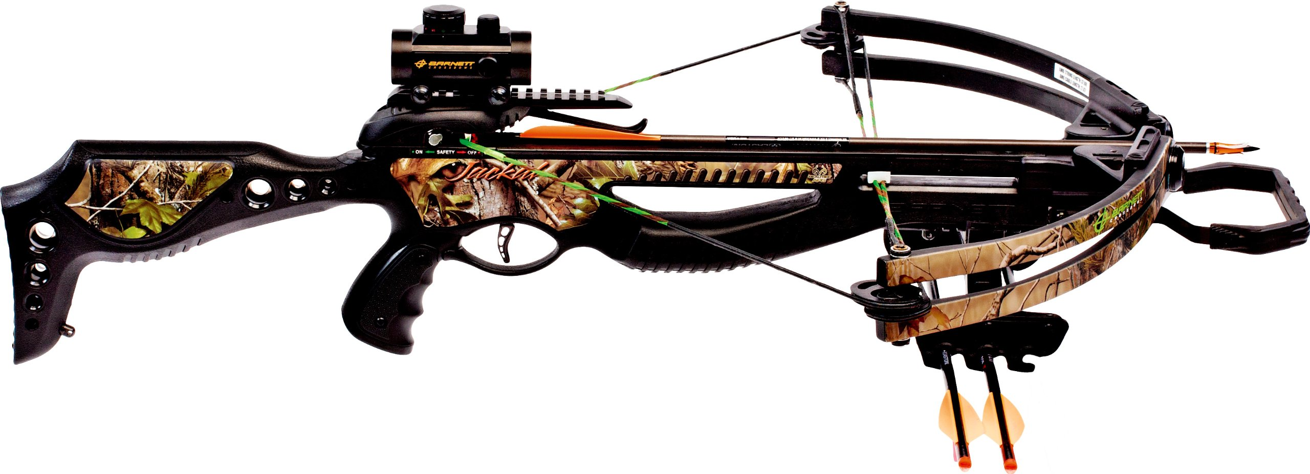 Barnett Jackal Crossbow Package (Quiver, 3 - 20-Inch Arrows and Premium Red Dot Sight) by Barnett (Image #3)