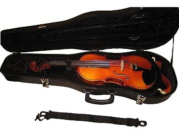 Vio de la música ABS fuerte funda para violín, 4/4 de tamaño ...