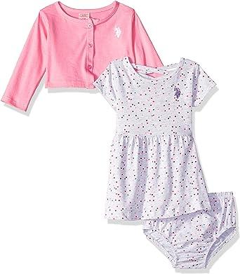 U.S Select SZ//Color. Polo Assn Baby Girls Casual Dress 12M