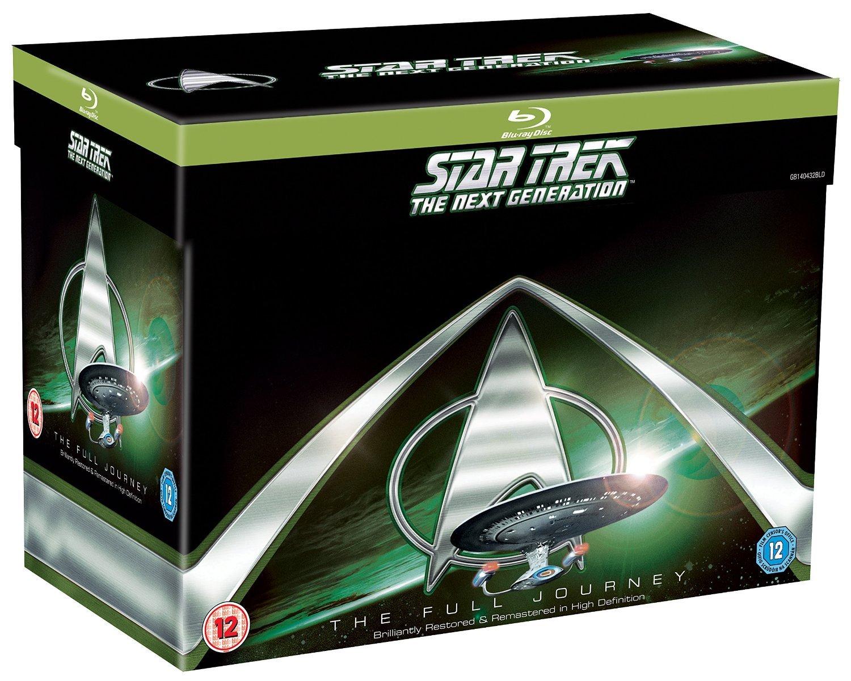 Star Trek: The Next Generation - The Complete Series Box Set- Season 1-7 [Blu-ray] by Paramount