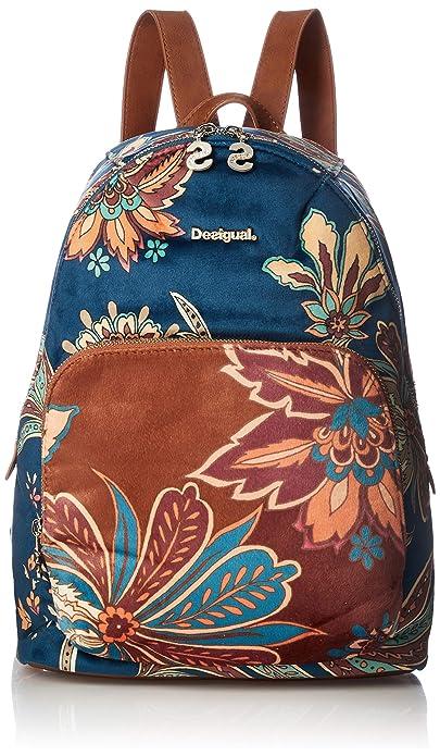 Desigual Mochila Discovery Lima Talla: U Color: AZUL: Amazon.es: Zapatos y complementos