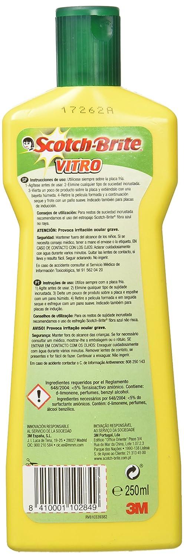 Scotch-Brite Spray Limpiador para Vitrocerámica, 500 ml