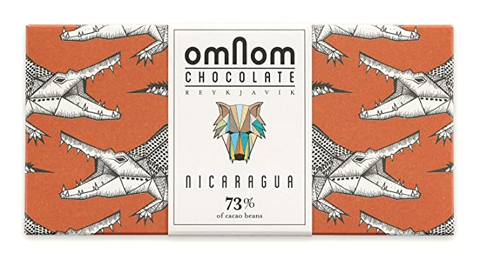 Deliciosa Barra De Chocolate Nicaragua 73% Cacao De OMNOM | Chocolate Gourmet Con Sabor Artesanal