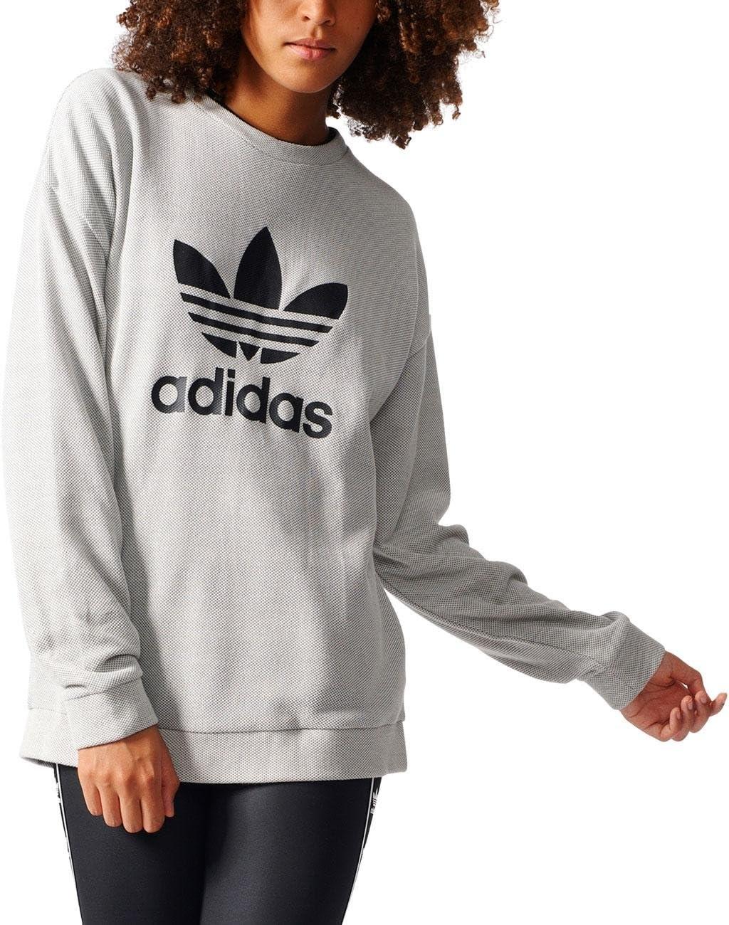 adidas Trefoil Sweater Sudadera, Mujer