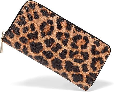 Leopard Wallet Wallet Keychain Leopard Card Holder Wristlet Card Holder Keychain