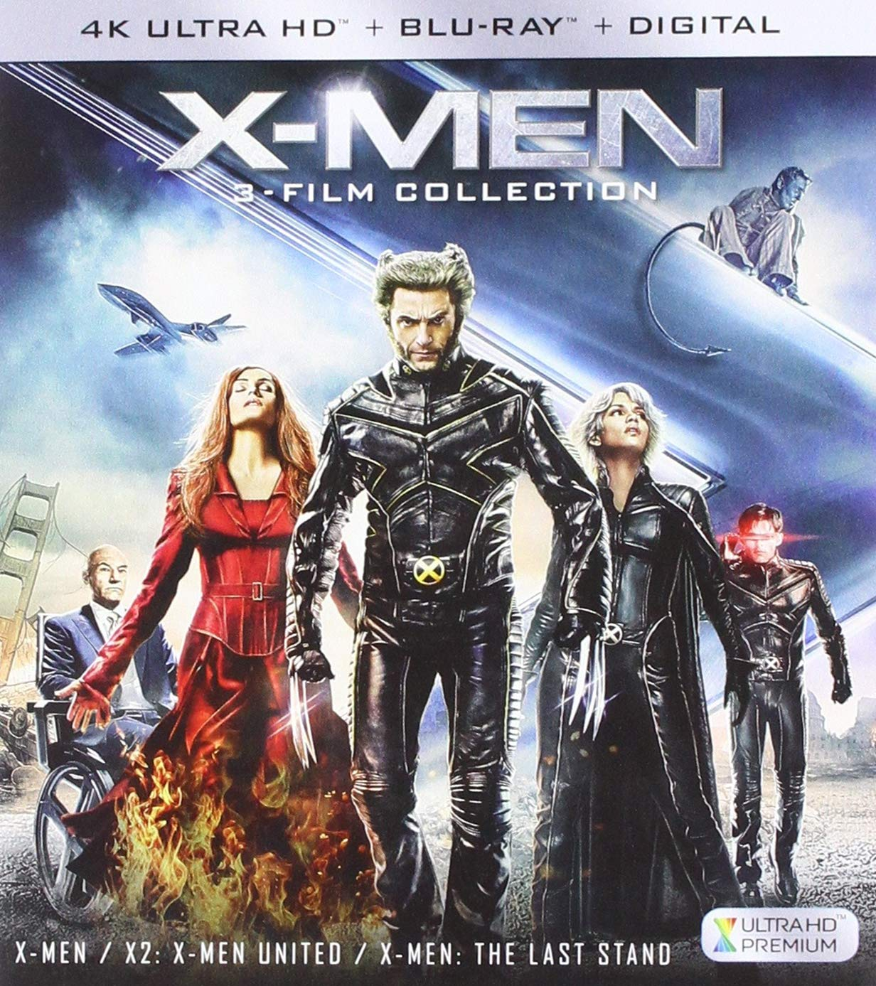 X-Men Trilogy [USA] [Blu-ray]: Amazon.es: Cine y Series TV
