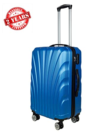 bc1771515 3G Combat 8016 Series ABS 20 inch/ 55Cms 4Wheel Hard Sided Luggage Trolley Suitcase  Cabin