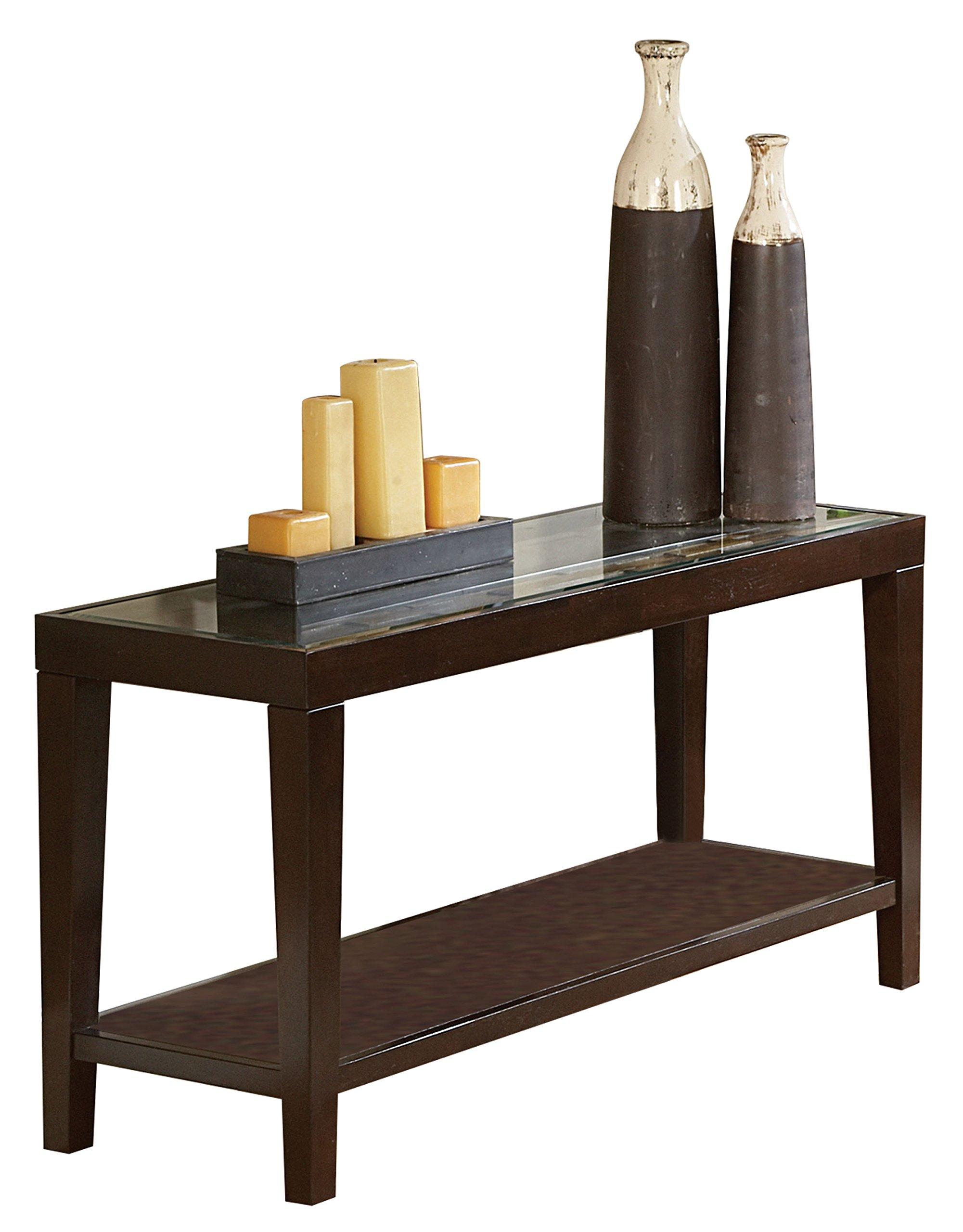 Homelegance Vincent Sofa Table, Espresso