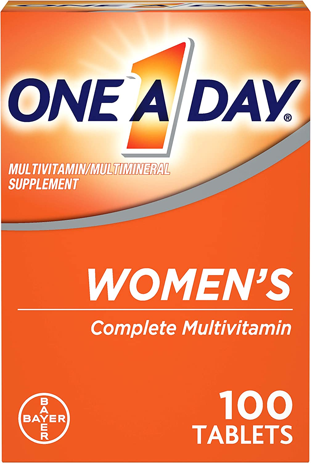 One-A-Day Women's Multivitamin Tablets, …