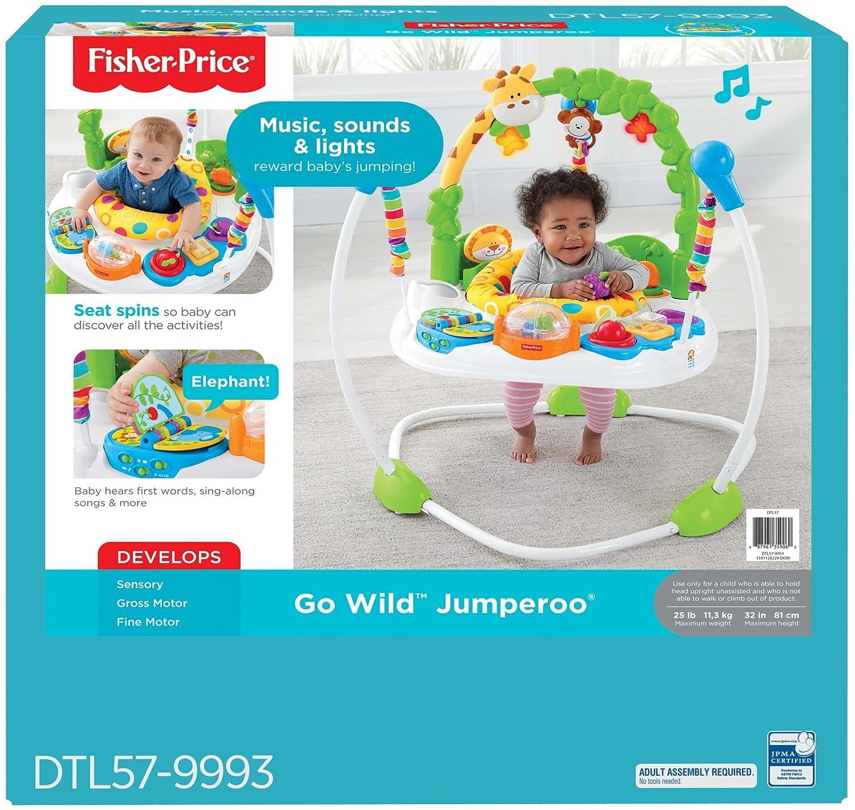 590d74d550f4 Amazon.com   Fisher-Price Go Wild Jumperoo   Baby