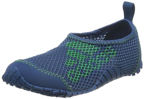 e842e37a43c6 Adidas Unisex Kurobe K Corblu and Enegrn Fashion Sandals - 2 UK India (34