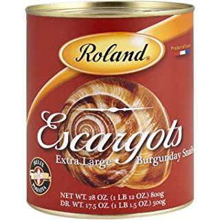 Roland Escargots, Extra Large Burgundy Snails, 28 Ounce