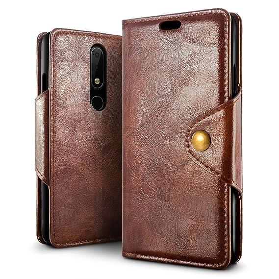 competitive price c837e 1a74b Amazon.com: Nokia 6.1 Plus Case, Nokia X6 2018 Case, SLEO Magnetic ...