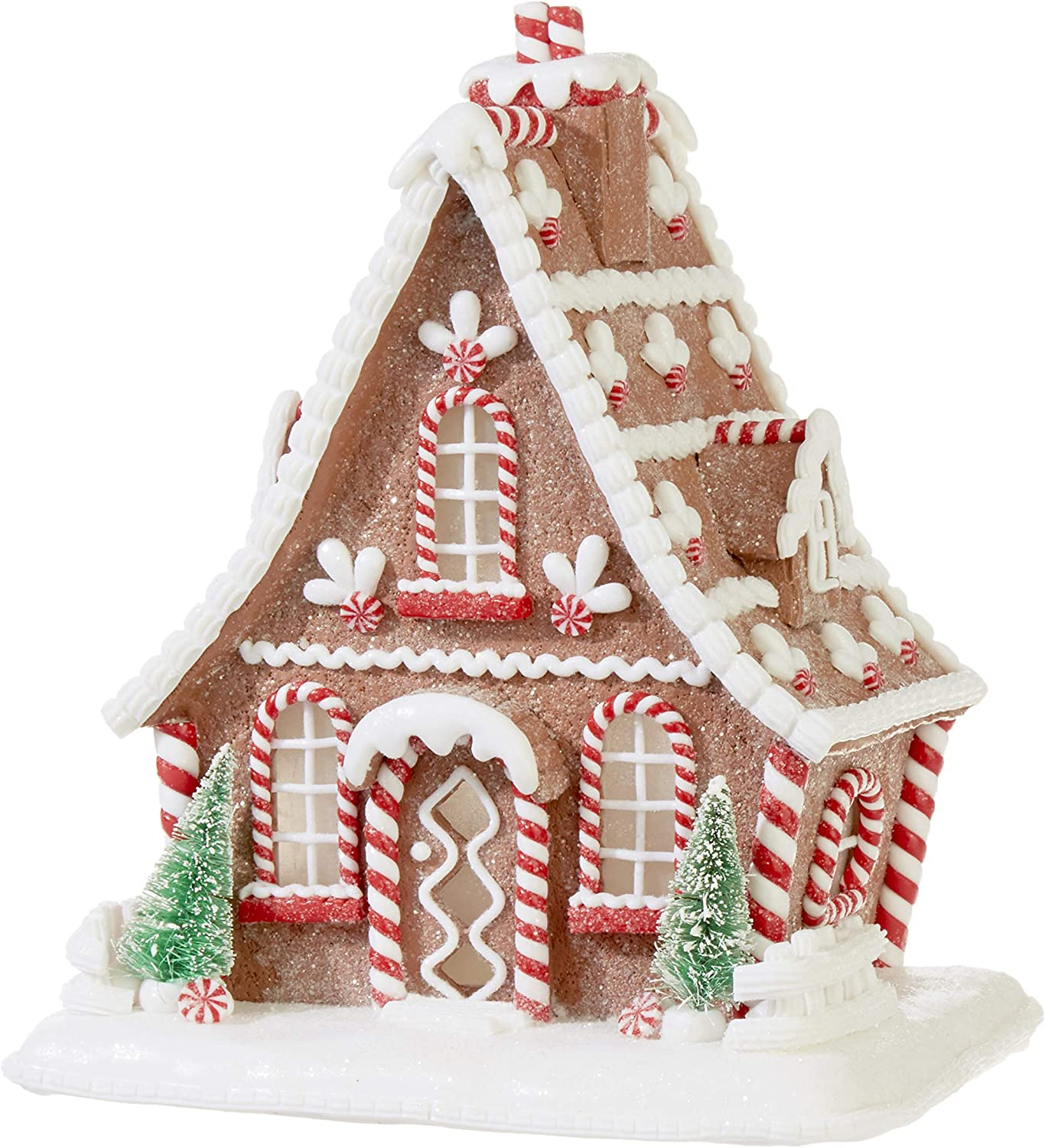 "Amazon RAZ Imports 10 5"" Lighted Gingerbread House"