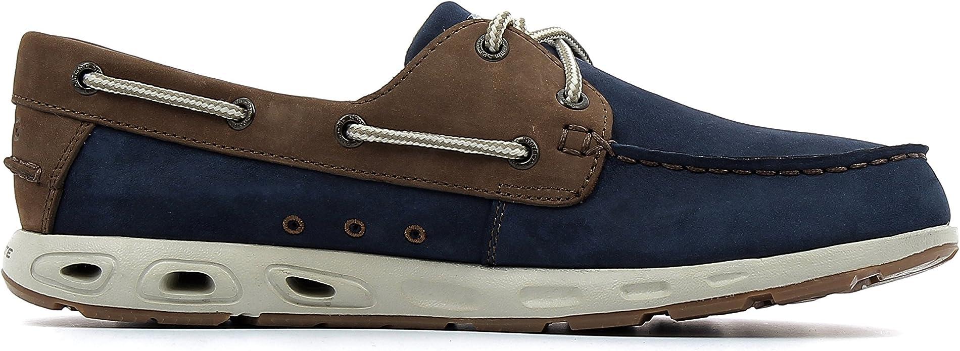 Columbia Bonehead Vent Leather PFG, Chaussures Bateau Homme
