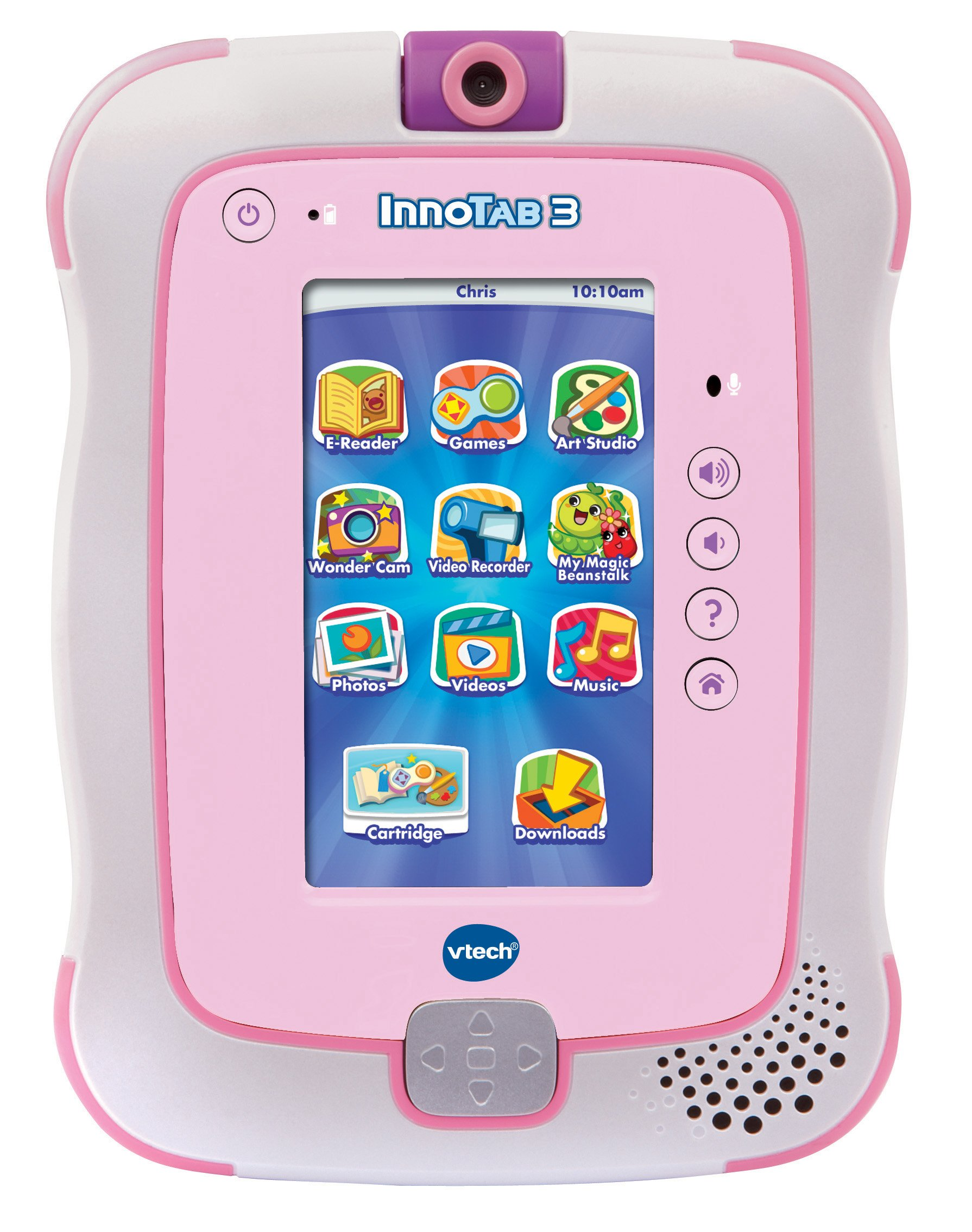 VTech InnoTab 3 The Learning App Tablet, Pink by VTech (Image #1)