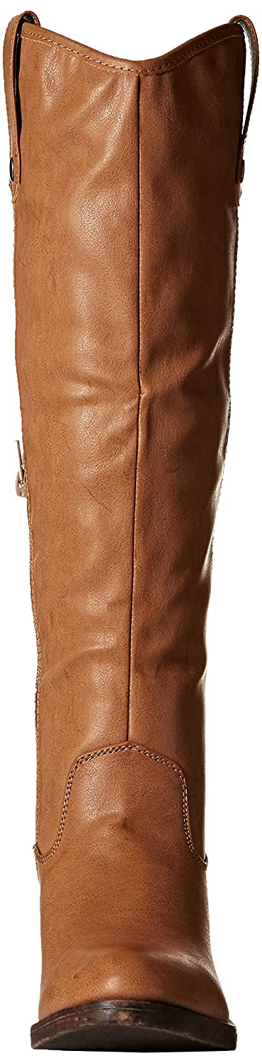 Rampage Women's Italie Riding Knee High Boot B076HBMBGP 6.5 B(M) US|Taupe