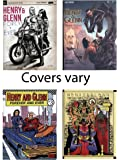 Henry & Glenn Forever & Ever 1-4 Limited Edition Variant Cover Set! Complete Lot of All 4 Comics!