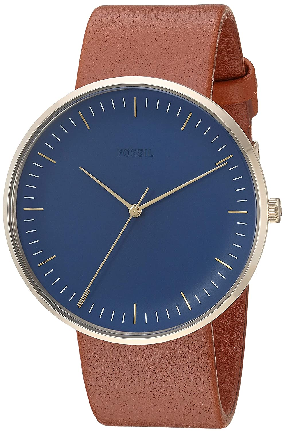 Buy Fossil The Minimalist 3h Analog Blue Dial Mens Watch Fs5473 Adc0808 8211 Simple Analoque To Digital Converter Online At Low Prices In India