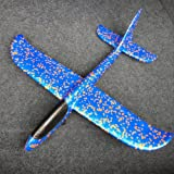 Hofumix Airplane Model Foam Model Aircraft Toy Mini Hand Throw Model Plane Toy Free Flight Hand Launch Glider for Children Kids Photo