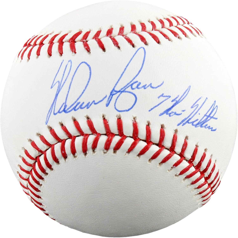 Nolan Ryan Autographed Baseball with