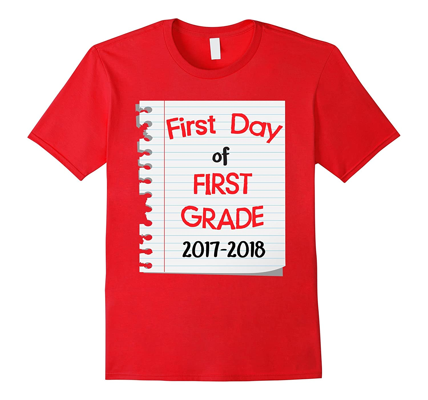 Back to School 2017 First Day 1st Grade Kid Cute T-Shirt-Art