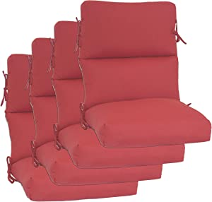 Set of 4 Outdoor Chair Cushion 22