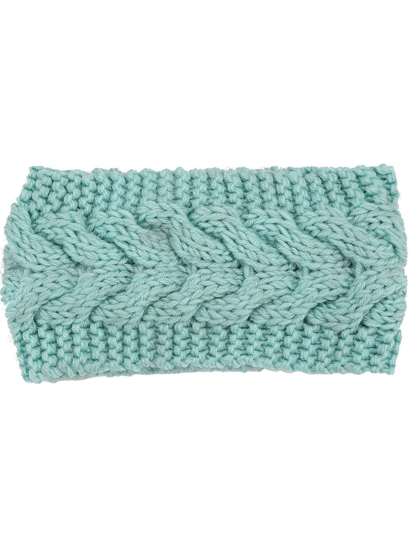Satinior Knit Headband Ear Warmer Twist Knitted Hair Band Braided Headband  Versatile Winter Crochet Headbands for Women and Girls (Light Blue) at  Amazon ... ae361082ccf