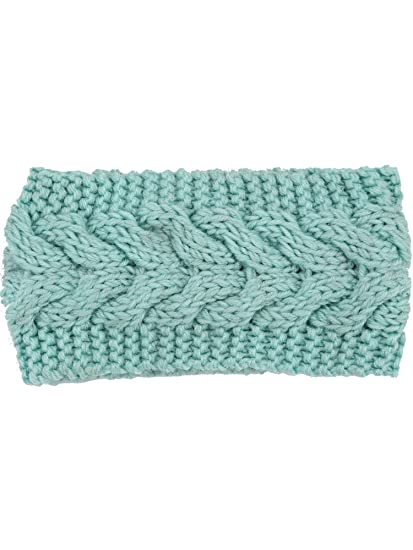 Satinior Knit Headband Ear Warmer Twist Knitted Hair Band Braided