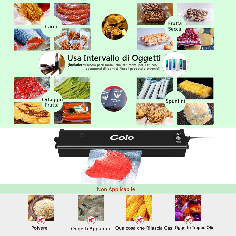 Máquinas al vacío para alimentos Coio sigillatore a vacío, Máquina ...