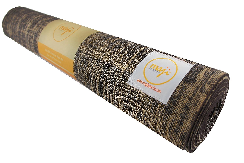 Maji Sports Jute Yoga Mat 8888A-Brown-P