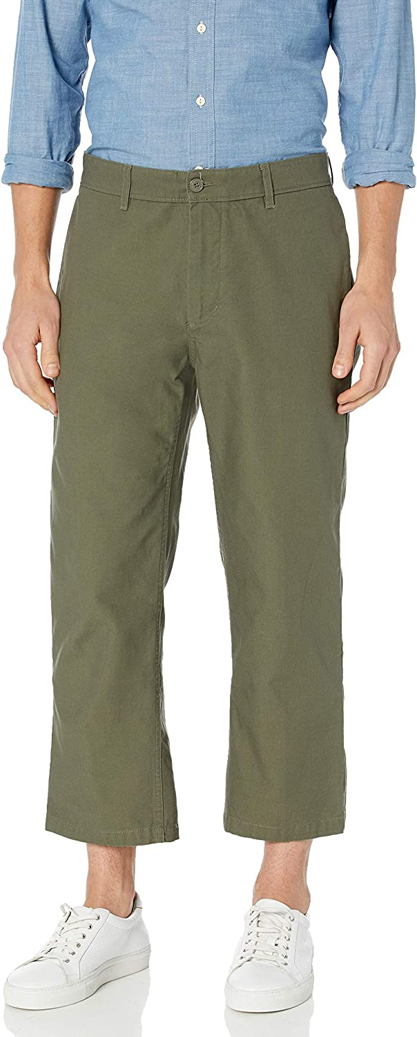 Obey Mens Lagger Patch Flooded Pocket Pant