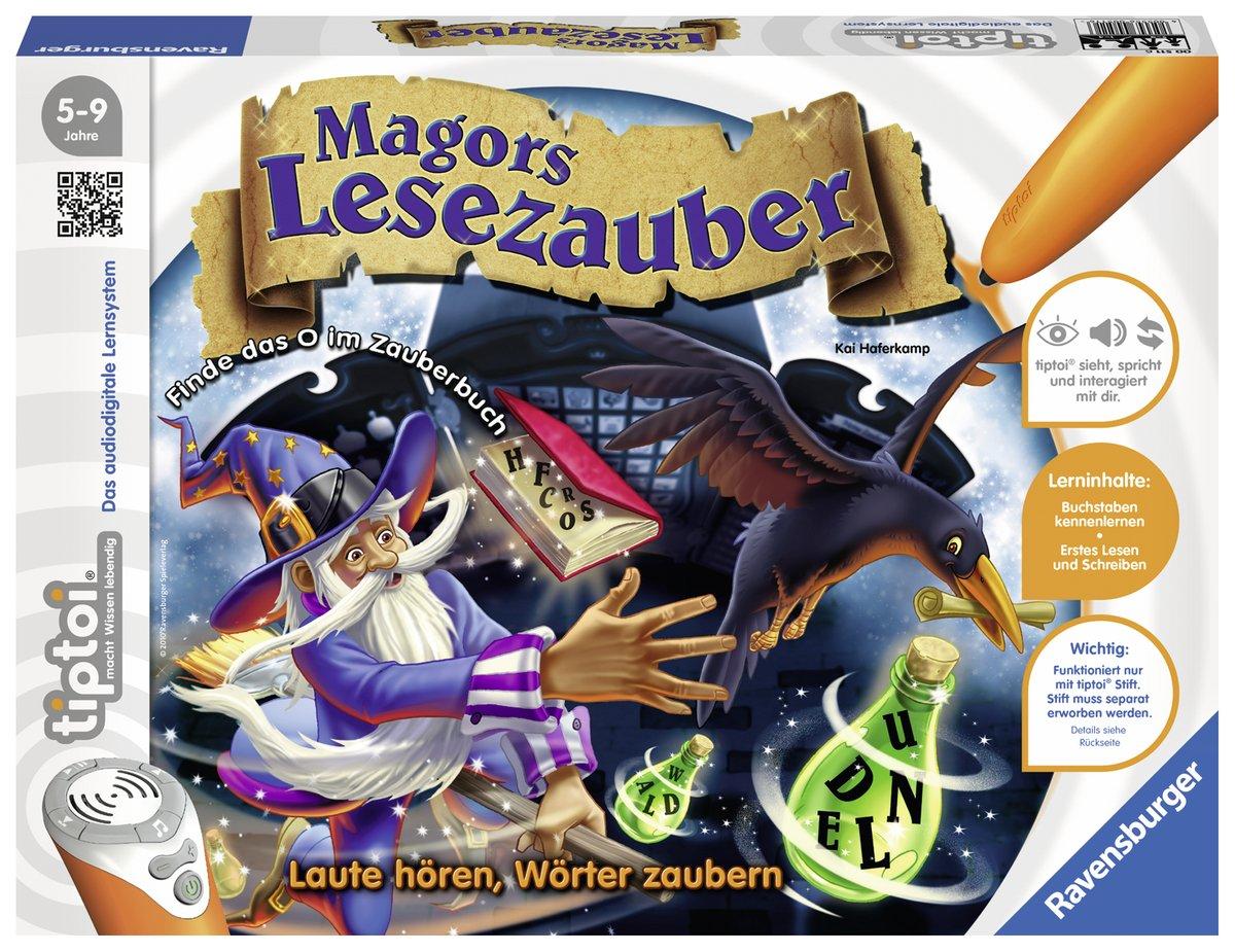 Ravensburger 00511 Tiptoi Spiel Magors Lesezauber Ravensburger Spielverlag Lernspiele für Kinder