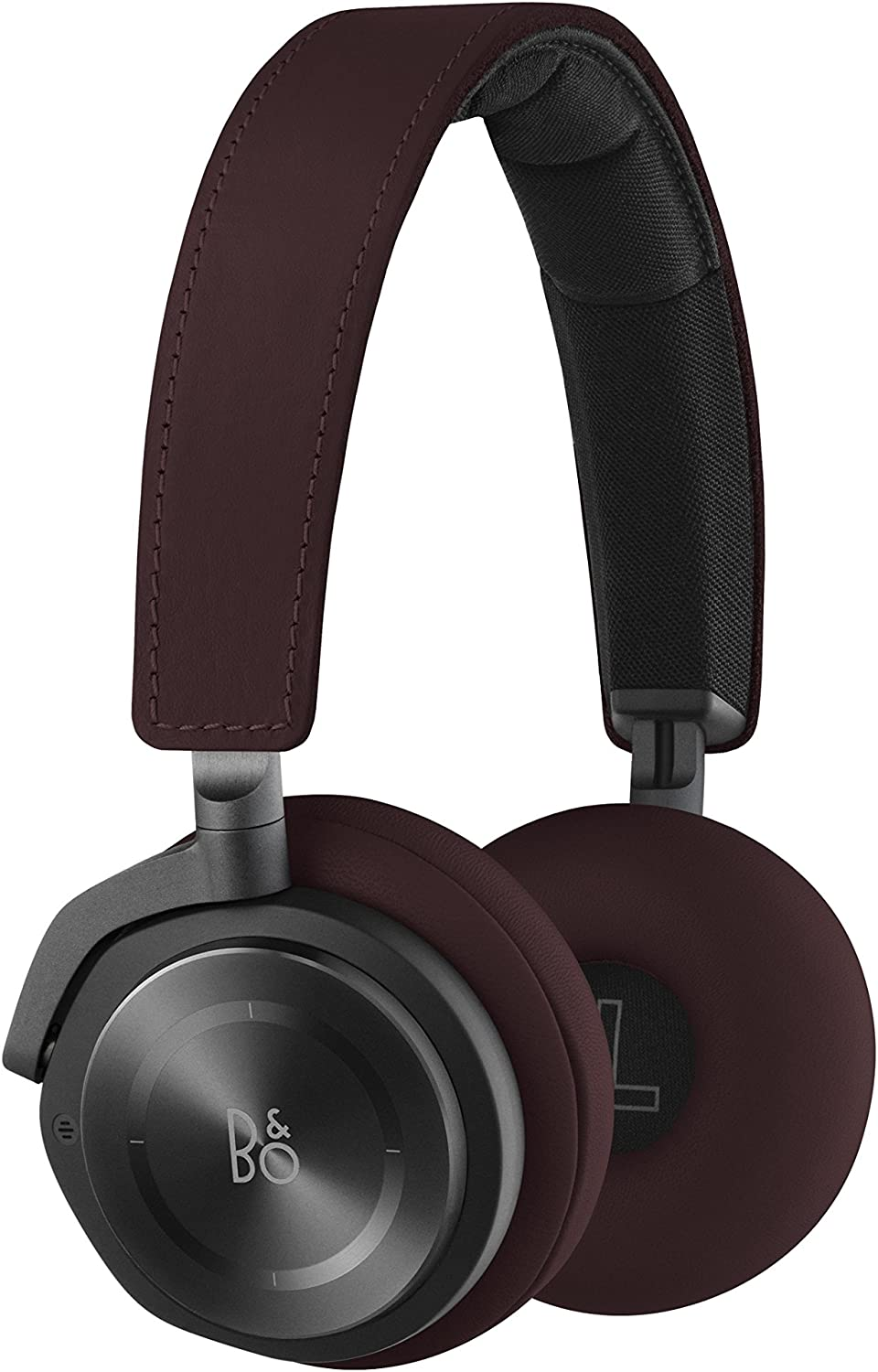 Bang Olufsen Beoplay H8 Wireless On-Ear Headphone with Active Noise Cancelling – Deep Red