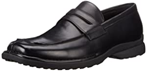 Kenneth Cole Unlisted Men's Bon Fire Penny Loafer, Black, 10.5 M US