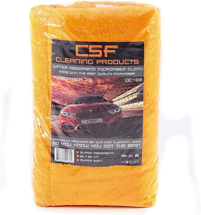 Csf Absorber Xs Dc 03 Orange Drying Towel Trockentuch Küche Haushalt