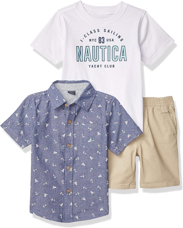 KHQ Nautica Sets Boys Short Sleeves T-Shirt Shorts Set