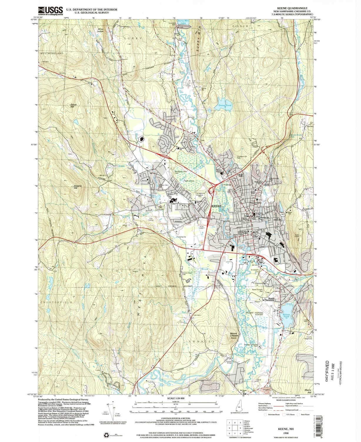 Amazon.com : YellowMaps Keene NH topo map, 1:24000 Scale, 7.5 X 7.5 on lancaster nh map, newburyport nh map, peterborough nh map, peabody nh map, hooksett nh map, methuen nh map, jacksonville nh map, connecticut new england map, keene new hampshire, nh state road map, westminster nh map, manchester nh on map, brattleboro nh map, plymouth nh map, franklin nh map, mansfield nh map, walpole nh map, buffalo nh map, cheshire nh map, monadnock mountain nh map,